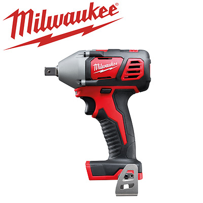 "Milwaukee - 18V 13 mm (1/2"") Impact Wrench w/ Pin Detent - M18BIW12-0 Skin Only"