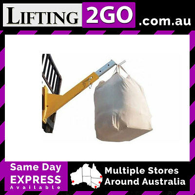 1 tonne Bulk Bag Lifter Fork Attachment (WA)