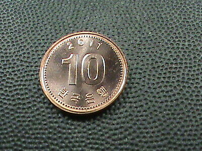 SOUTH  KOREA    10  Won    2011    BRILLIANT  UNCIRCULATED