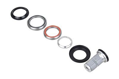 """Tapered 1-1/8"""" 1-1/2"""" Integrated Road Bike Cycling Bicycle Steerer Headset H373"""