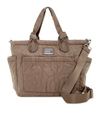 NWT NEW $298 Marc by Marc Jacobs Nylon Quartz Eliza Quilted Baby Diaper Bag Tote