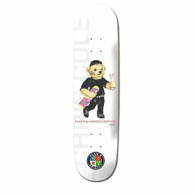 "Plan B - X Grizzly Cole 8.5"" Skateboard Deck"