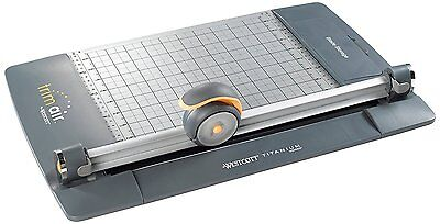 Professional Rotary Paper Photo Trimmer Cutter Titanium Bonded Blade Craft 12""