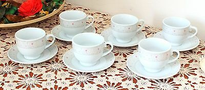 12 pcs Espresso-Turkish -Coffee-Cup-Set- Ottoman-Style- porcelain
