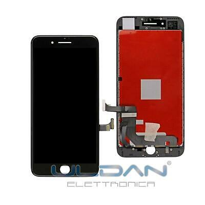 Lcd Display Per Apple Iphone 7 7G Touch Screen Frame Vetro Schermo Nero