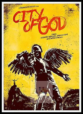 City Of God 2  Poster Greatest Movies Classic & Vintage Films