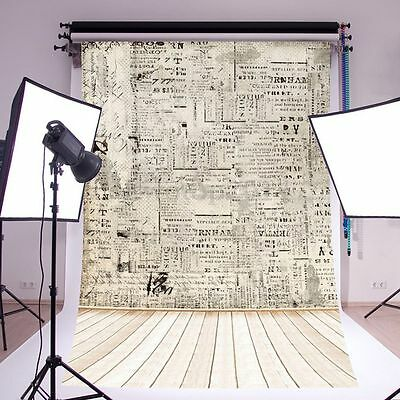 5x7FT Photography Backdrops Photo Background Studio Props Paper Wall Wood Floor