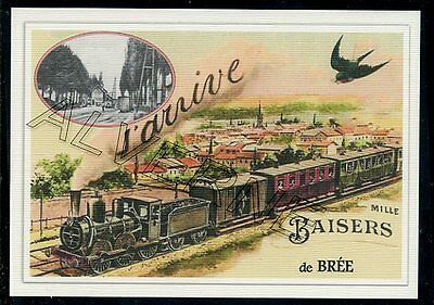 BREE -...... train .. ..  souvenir creation moderne serie numerotee