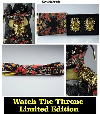 PREMIUM Watch The Throne Shoelaces & LUXURY Lace Locks + FREE SHIPPING in the US