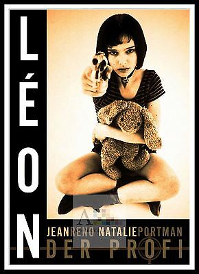 Leon   Poster Greatest Movies Classic & Vintage Films