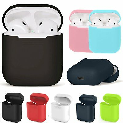 Soft Silicone AirPods Shock Proof Protective Case Cover for Apple AirPods GB