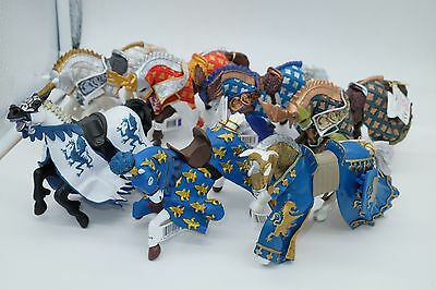 Genuine Papo Knights/ Kings/ Prince Horse NEW 7 Figures to Choose From