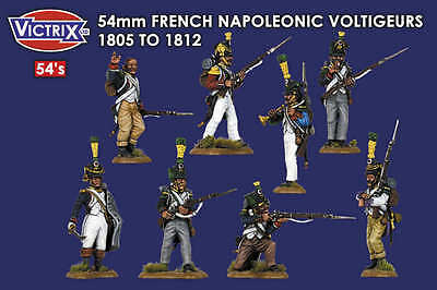 Victrix 1/32 54mm French Napoleonic Voltigeurs 1805 to 1812 # VX5403