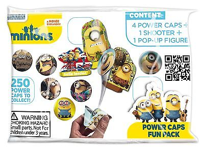 40 x Minions Power Caps Fun Pack Party Toys Lucky Bag Loot Pinata Wholesale