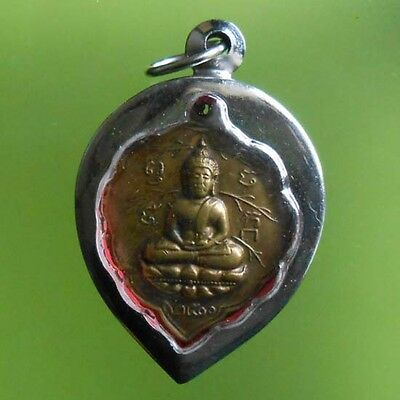 Hot Real! Lp Lee Old Thai Buddha Amulet Very Rare!!!