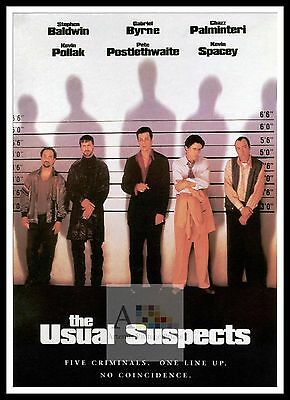 The Usual Suspects 2   Poster Greatest Movies Classic & Vintage Films