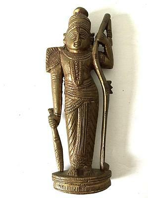 ANTIQUE BRONZE HINDU INDIAN STANDING FIGURE 19th CENTURY