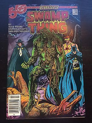 Swamp Thing (1982 2nd Series) #46 Very Fine VF DC Comics Newsstand
