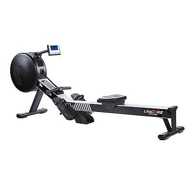 Lifecore R100 Commercial Rowing Machine, Black