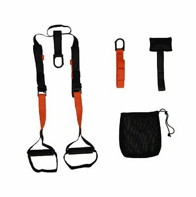 JFIT Portable Suspended Training System, Black/Red