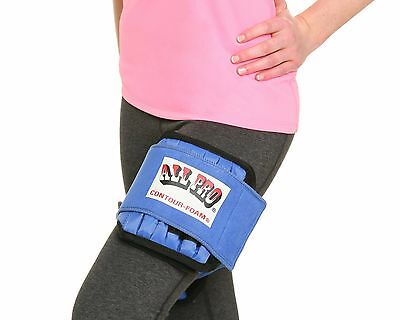 All Pro Weight Adjustable Thighaciser Thigh Weights, 6-Pound Pair