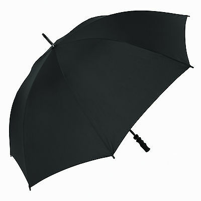 Susino Fibrelight Black Golf Umbrella (Single Canopy/Wind Resistant))