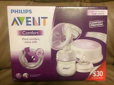 Philips AVENT Single Electric Comfort Breast Pump NEW