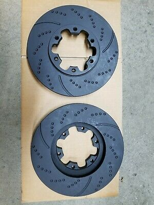 31158DS (FRONT 2pcs) Performance Sport Dimple Slotted Brake Disc Rotor