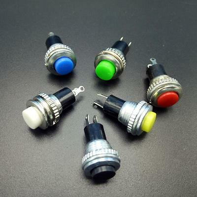 6x OFF-Momentary ON 0.5A 250VAC Remote Control Push Button Switches 10mm
