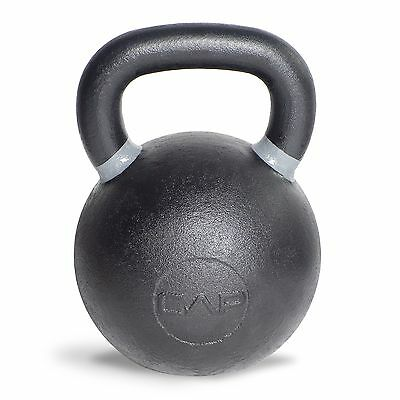 CAP Barbell Cast Iron Competition Weight Kettlebell, 13-Pound, Black/Gray