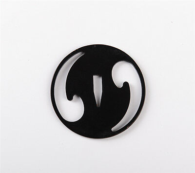 High Quality Iron Moon Tsuba for Japanese Samurai Katana Wakizashi Tanto Sword