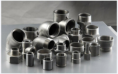 "STAINLESS STEEL 316 PIPE FITTINGS 150LB BSP 1/8"" To 4"" - CHEAPEST ON EBAY"