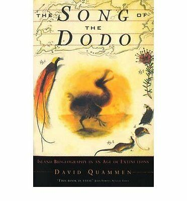 Song of the Dodo by David Quammen Paperback Book New