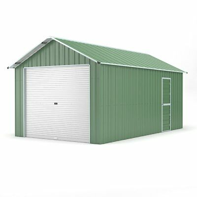 Single Garage 3.6m x 6.1m Widespan Rivergum Garages Steel NEW