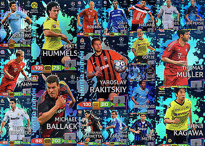 RARE ! Limited Edition Champions League 2011 2012 Panini Adrenaly XL