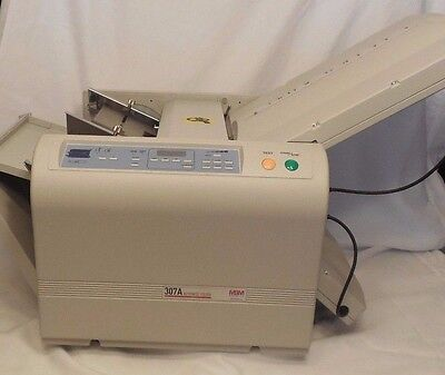 MBM 307A Automatic Programmable Tabletop Paper Folding Machine OPEN BOX UNUSED