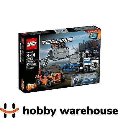 LEGO 42062 Technic Container Yard (BRAND NEW SEALED)