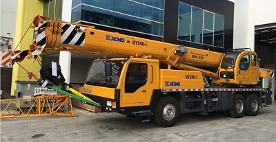 Truck Cranes - 2017 Xcmg Qy25K - Brand New