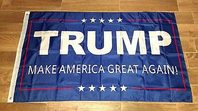 MAKE AMERICA GREAT AGAIN Donald Trump Campaign Outdoor Flag / Banner 3x5 FOOT