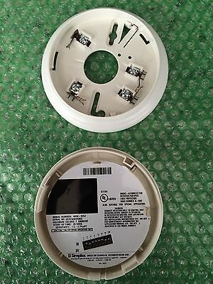 Simplex Smoke Detector 4098-9757/ With Base
