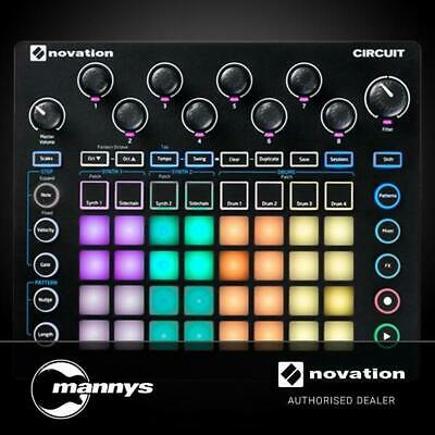 Novation Circuit Inspirational Grid Based Groovebox