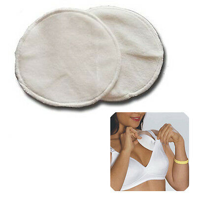 Bamboo Washable Reusable Waterproof Nursing Breastfeeding Maternity Breast Pads