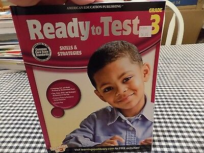 American Education Publishing Ready To Test Skills & Strategies Grade 3