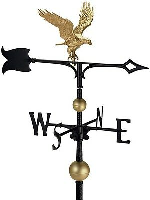 Weathervane Eagle Globes 30 in. Easy to Install Vibrant Color Outdoor Decor