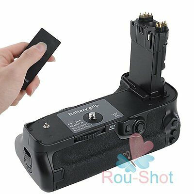 Camera Battery Grip Holder + Remote Controller For Canon 5D Mark IV 5DIV【AU】