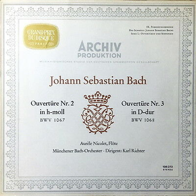 KARL RICHTER / Bach Overtures No.2 & 3 / Archive Stereo SAPM 198 272