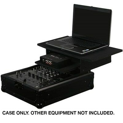 "Odyssey Black Label Glide 12"" DJ Mixer Case (FZGS12MIXBL)"