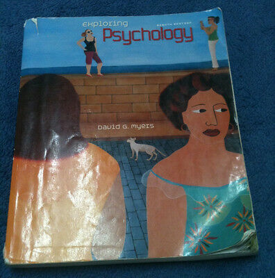 Exploring Psychology by David Myers, 8th edition (US EDITION). (9181-4292-38267)