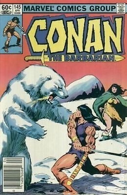 Conan the Barbarian (1970 Marvel) #145 FN Marvel Comic (C-5)