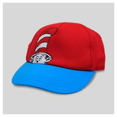 Dr Seuss The Cat In The Hat Kids Baby Hat Cap New!
